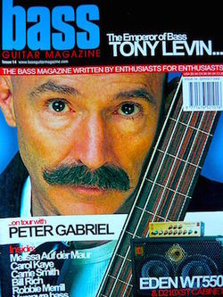 Bass Guitar Magazine UK 2014 Tony Levin