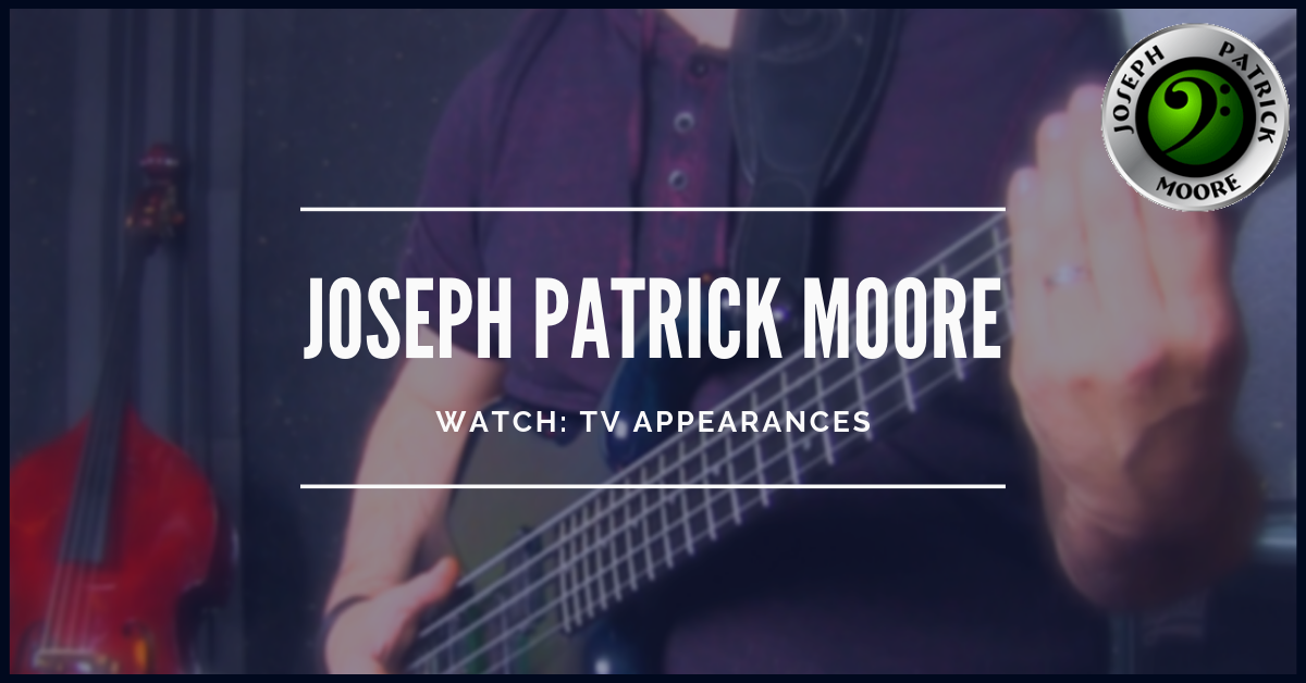 TV appearances with Joseph Patrick Moore