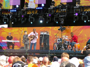 Earl Klugh at Eric Clapton's Crossroads 2010.
