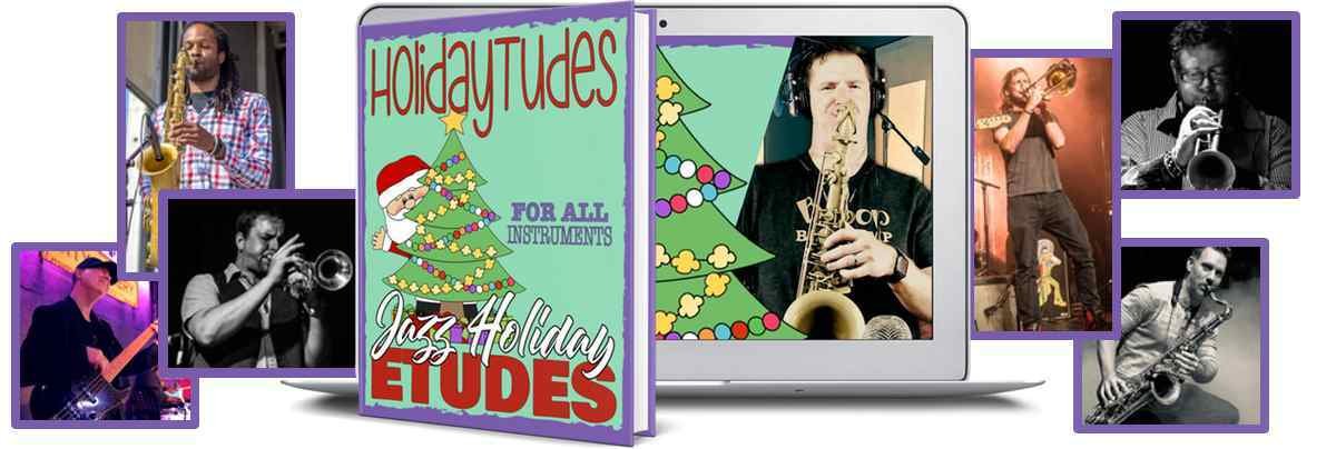 Jazz Holiday etudes